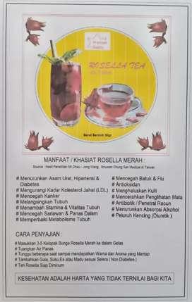 Rosella Teh - Minuman Kesehatan