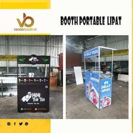 Booth portable lipat small untuk usaha besar