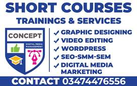 Become Video Editor, Graphic Designer or Digital Marketer