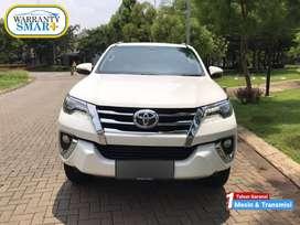 GOOD CONDITION Toyota Fortuner 2.4 4x2 VRZ Solar Putih 2018 TDP 125jt