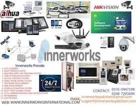 Dahua Cctv 4 Cameras package with One Year Warranty of fully Package