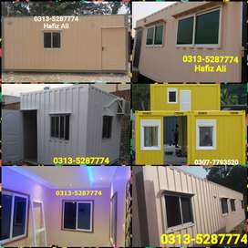 Porta cabin office hall container mobile cafe prefab house guard cabin