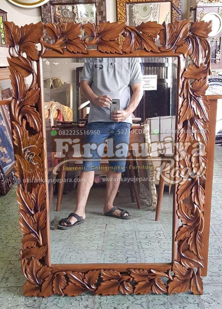 furniture ukir jepara cermin daun anggur FREE ONGKIR JAWA 0