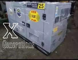 25 kva  sound proof Japanese  mazda 2500c.c