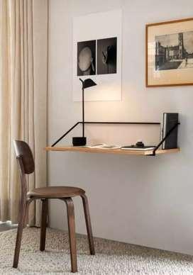 Meja cpu meja dinding meja kerja meja lipat meja wfh meja belajar