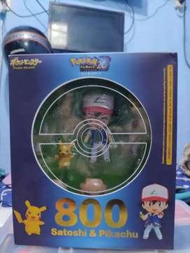 Nendoroid Satoshi dan Pikachu 800