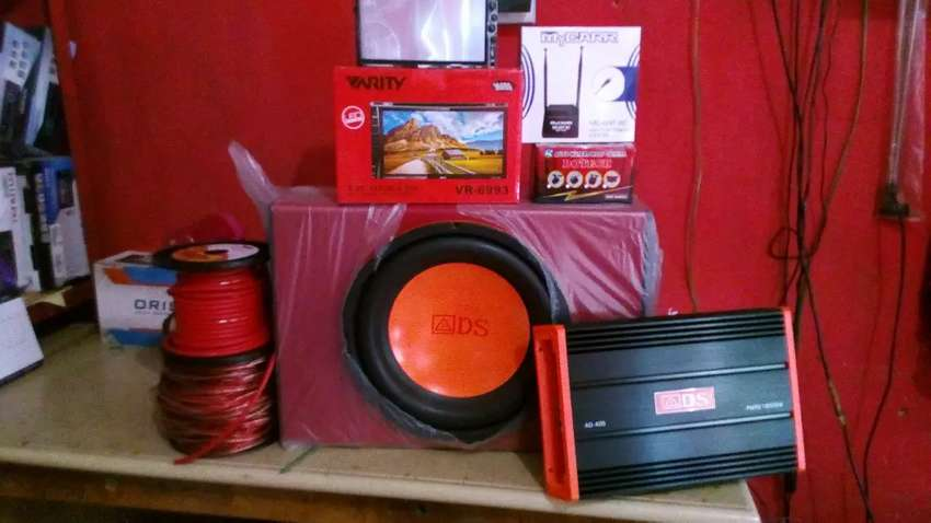 Promo Paket Complit Audio Mobil Harga Murmer 0