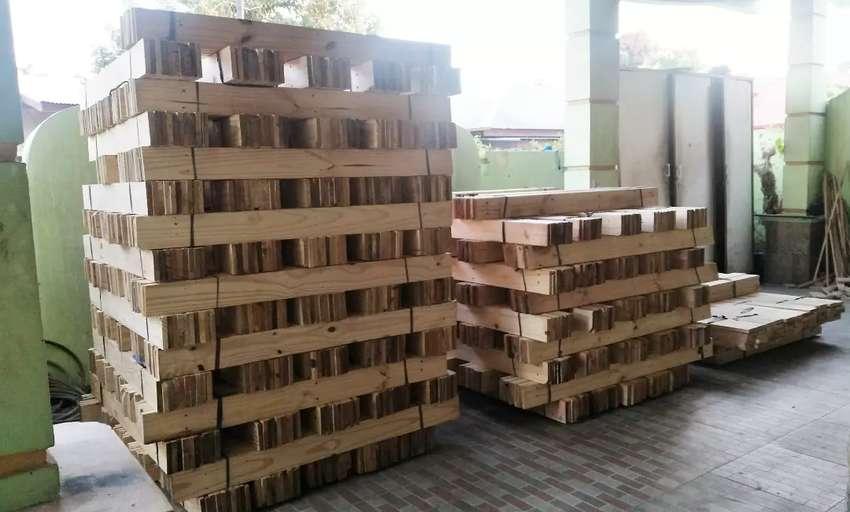 Impor kayu jati belanda serat halus 4 sisi 0