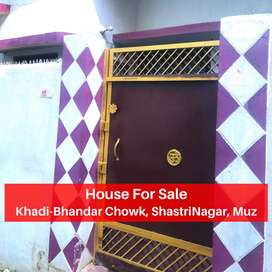 New House For Sale I 26 Lks I ShastriNagar, Khadibhandar, Muz