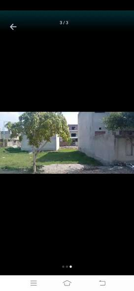 10 marla beautiful plot at ismail greens. Milat road faisalabad.