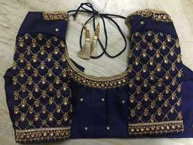 Wedding Hand Embroidery Blouse