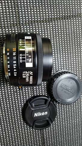 nikon af 24mm f2.8 mulusss like new jadul vintage antik lawas