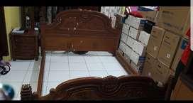 Tempat tidur Kayu Jati murah