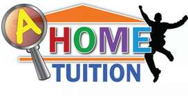 Home tutor is available for students of matric and inter
