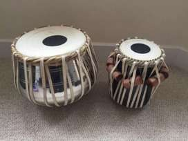 New Tabla pair in Steel body Sheesham wood Tabla amazing sound quality