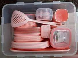 Tak Plastic Royal 60 Pcs Picnic Set or Iftari Set