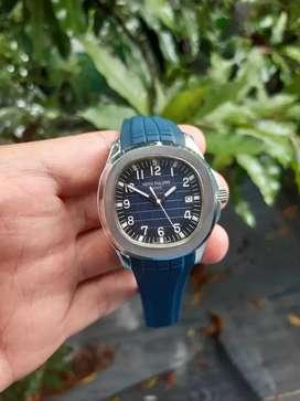 Jam Patek Automatic Blue