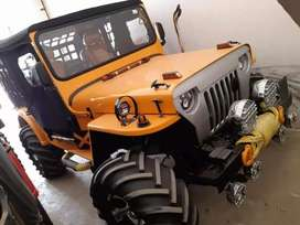 Open modified Jeeps available all india