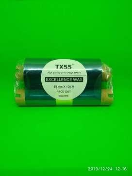 Ribbon Printer SATO Premium wax Sony TX55 85x100