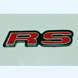 Emblem RS Warna Merah
