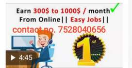 Don't miss find job we are offering you home jobs