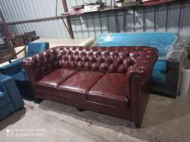 Leatherette sofa 3+2 in 24999 buy direct factory