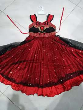 Girl kids party wear 4 to 5 year