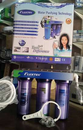 Triple fluxtek water Filter for house, office and school use