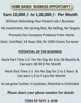 Home based job and earn extra income