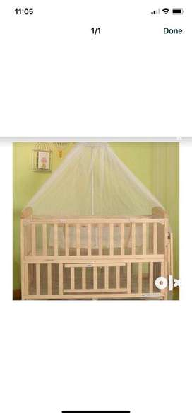 Bed for babies in a good condition