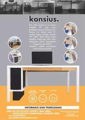 Meja Komputer Punya Banyak Fitur dan Kemudahan