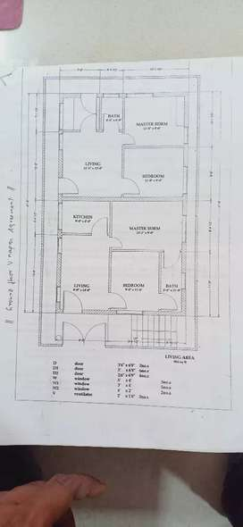 Used Flats for sale at Visalakshinagar