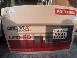 Harga terjangkau, miliki sekarang led 50 in tipe cinemax sound bar