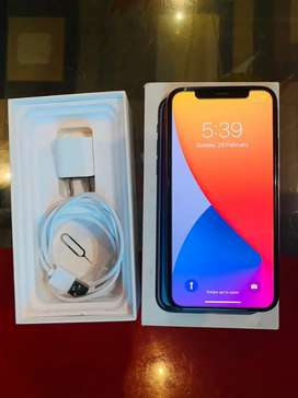 New IPhone X 256GB PTA Approved  with box charger