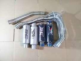 Knalpot racing ZX25R