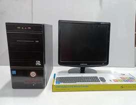 Offer Sale > Intel Core2duo Pro (17''Monitor)Fullset Pc &Service