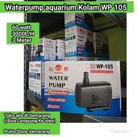 Pompa aquarium Yamano WP 105 Waterpump Kolam 60 watt 3000 L H Maks 3 m