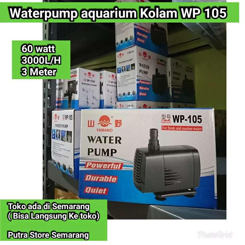 Pompa aquarium Yamano WP 105 Waterpump Kolam 60 watt 3000 L H Maks 3 m 0