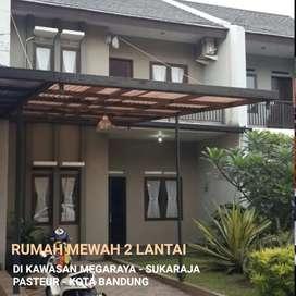 Rumah 2 lantai di Sukaraja, Pasteur, tol Pasteur, gedung sate, Bandung