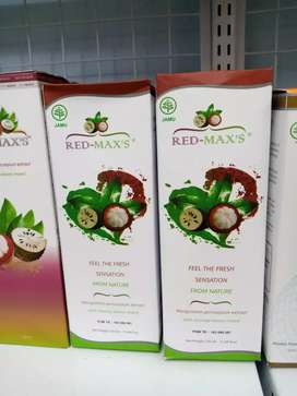 Red maxs redmaxs herbal jus kulitmanggis daun sirsak ganti acemaxs vco