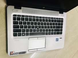 Slim Silver Sleek HP Premium Elitebook