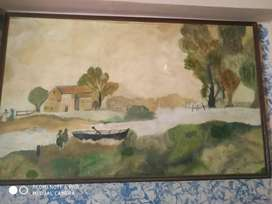 Beautiful handmade painting 2.5'x 4'