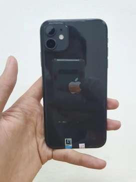 Iphone 11 128gb black mulus like new istimewa