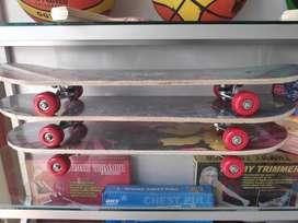 skate board aneka motif 4reds