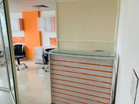 Fully Furnished office space in Zirakpur- 190sqft to 25000Sqft Area