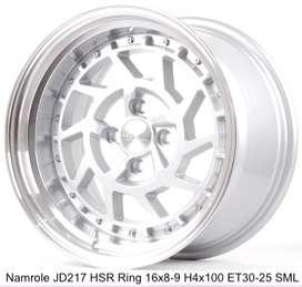 stock,NAMROLE JD217 HSR R16X8/9 H4x100 ET30/25 SML