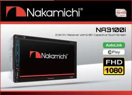 Headunit 2din DVD Nakamichi Na 3100i Autolink iplay receiver