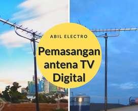 Spesialis Pasang Baru Antena Tv Digital