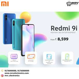 REDMI 9i 4GB RAM+128GB ROM All colors Available with Warranty