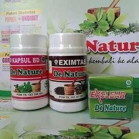 Obat Gatal Eksim, Obat Exsim, Obat Exim Basah dan Kering De Nature